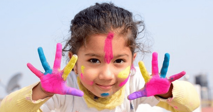 Food Fun with Edible Paint for Kids