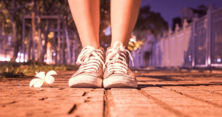 How To Style Sneakers With A Dress